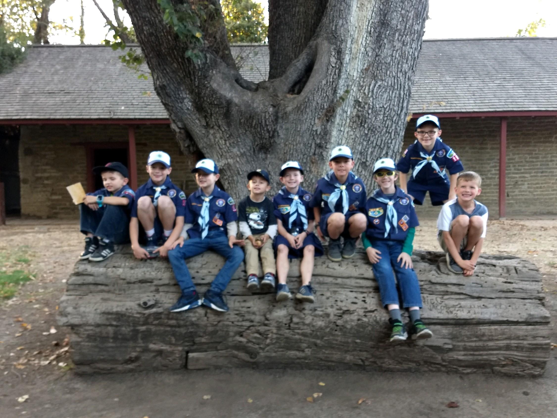 Cub Scouts Visit Peña Adobe!