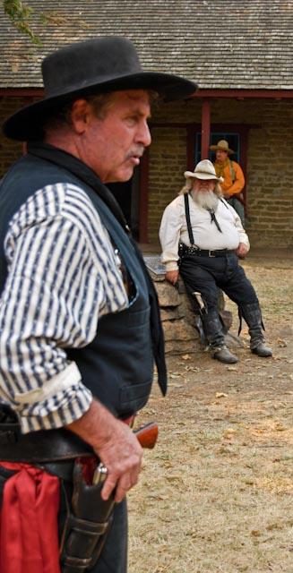 The Congressional Gunfighters of America visit Peña Adobe