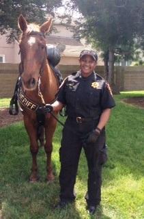 Officer Robin Turner & Missy!