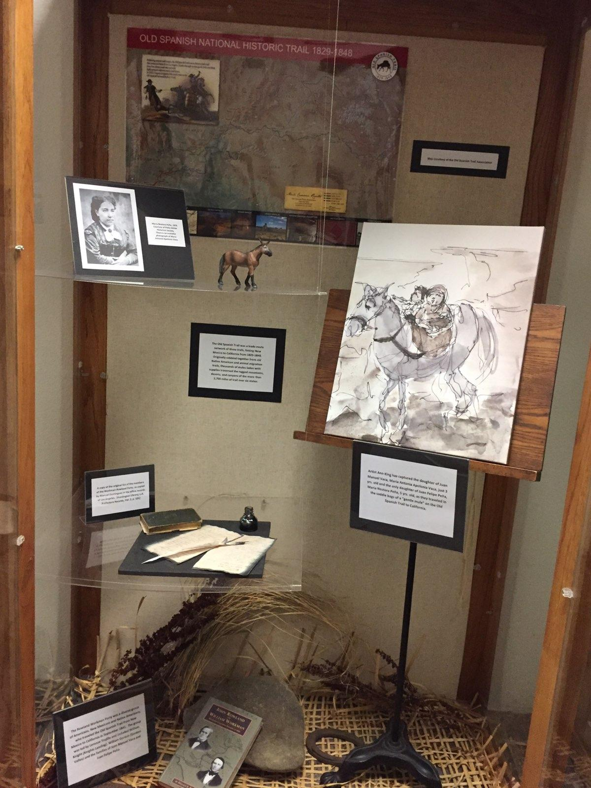 Old Spanish Trail History Now Displayed at Vacaville City Hall