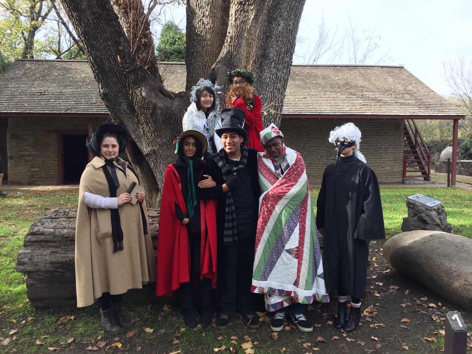 Armijo High School Drama Students as characters from